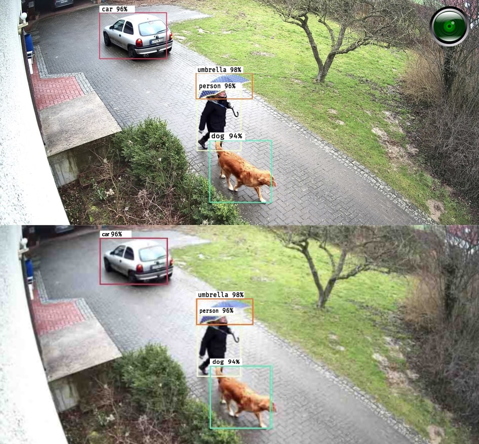 Detect objects regardless of your IP camera quality