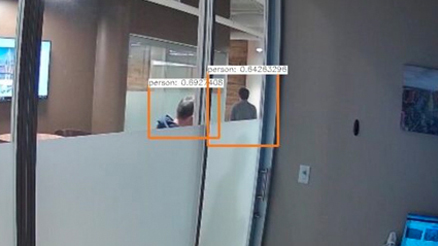 Detect objects